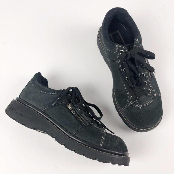 Mens Sports Sandals Skechers Yoga Foam Black 90s Shoes